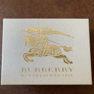 Burberry bifold small wallet